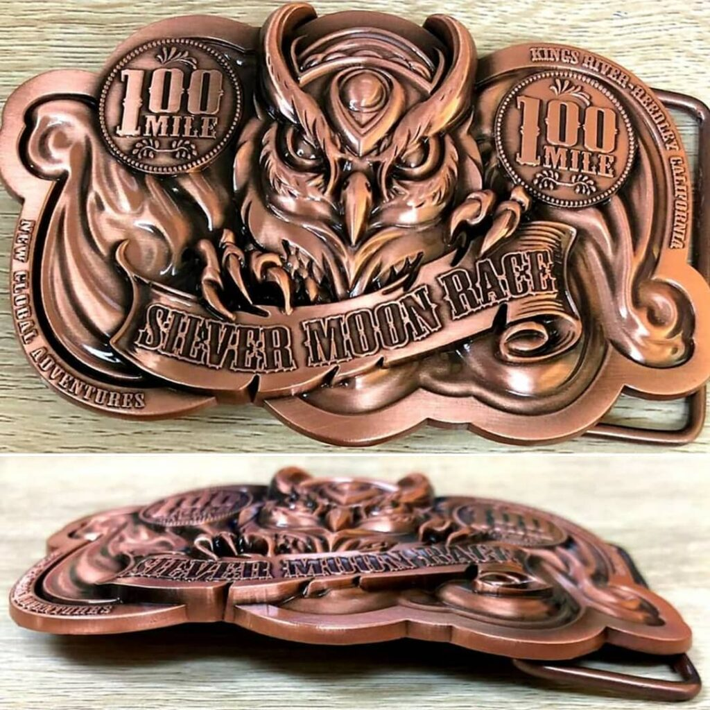 2020 Silver Moon Race Buckle