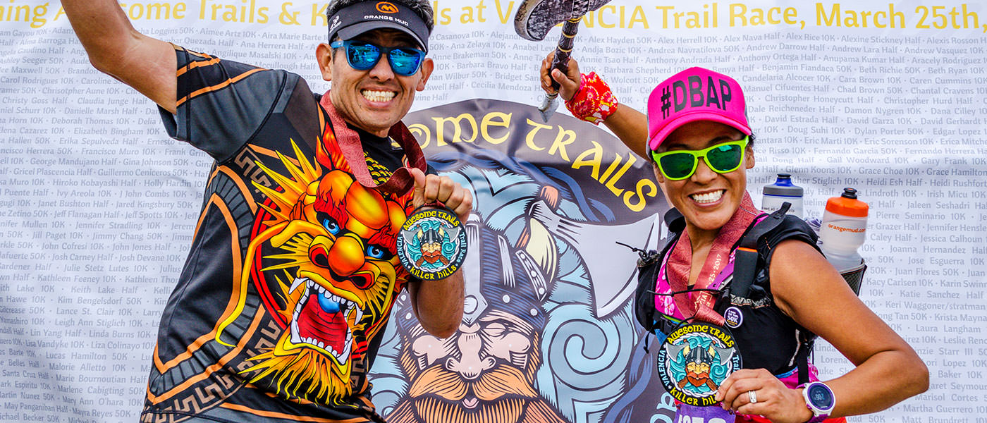2017 VALENCIA Trail Race Finishers